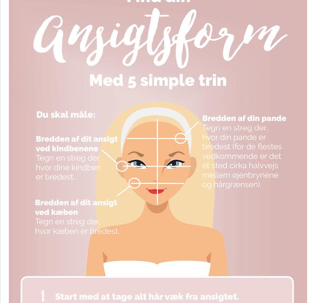 Guide til ansigsform