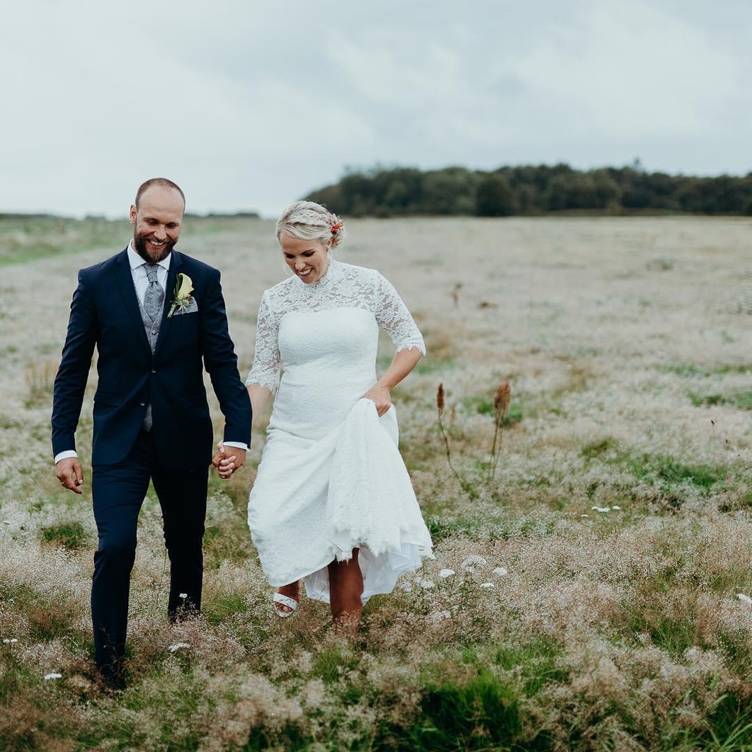 Brudemakeup og brudehår Mette