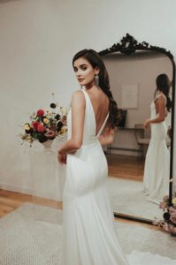 Brudekjoler say oui bytinajakobsen brudehår makeup kjoler