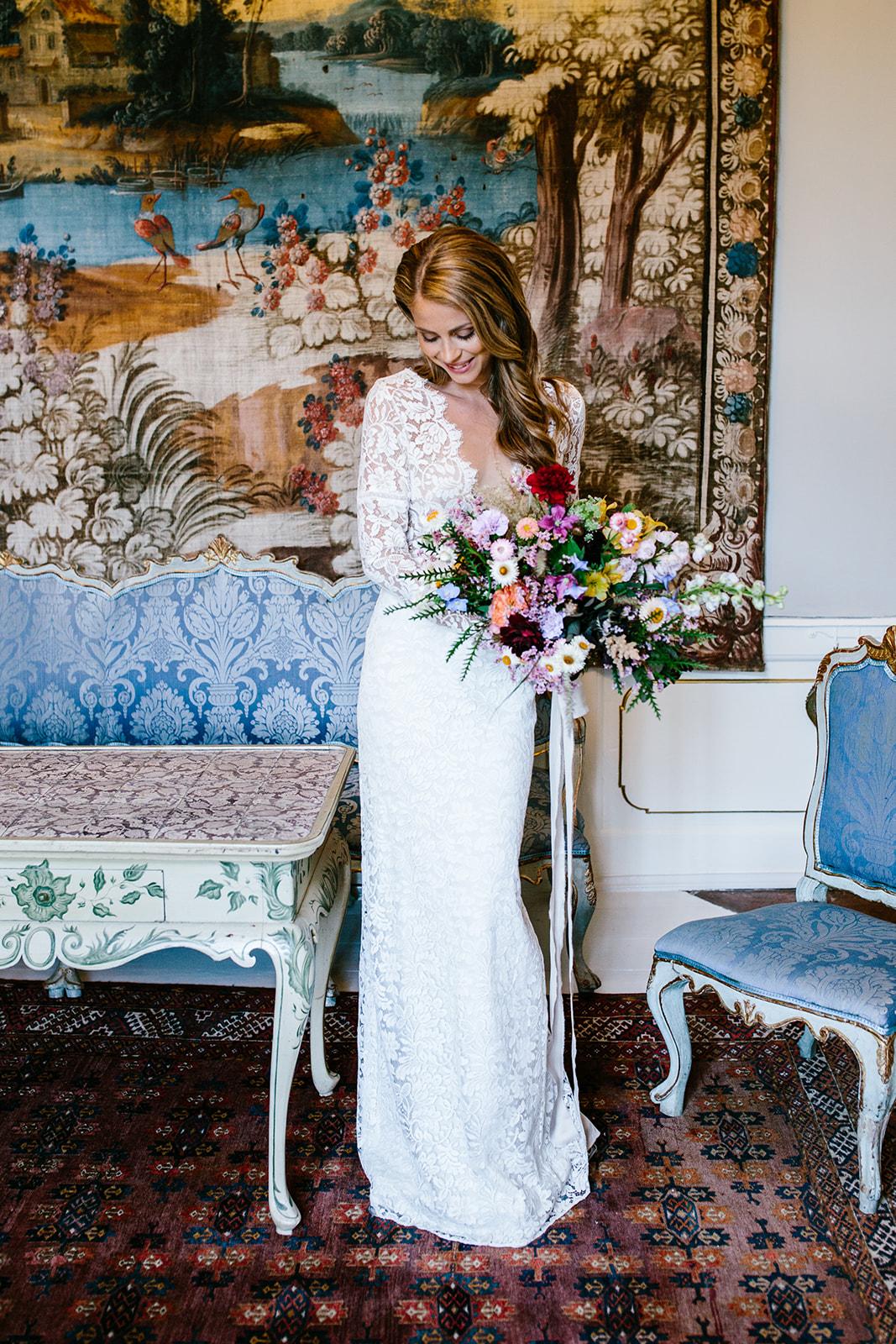 Brudemakeup og brudehår bytinajakobsen-makeup-hår-rosenholm-slot