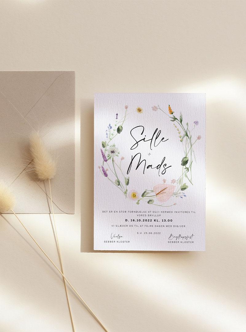invitation bryllup gift bryllupper fest